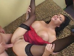 Female parent opens wide added to gets fucked up will not hear of lewd in the last