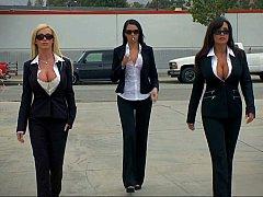 Three porn diva criminals
