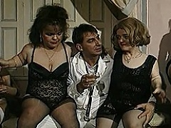 This bizarre midget group sex scene will exemplify every dwarf lovers...