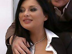 Anna Polina Threesome