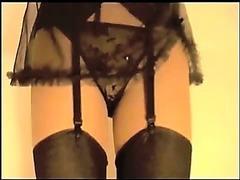 Suzy in Nylon Stockings