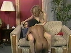 Love it... enjoy it, coz this one hell of interracial threesome...