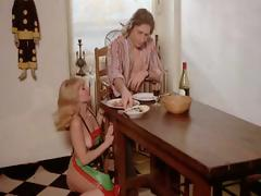 Classic clips of vintage lesbian and blowjobs with fucking hairy pussies likewise