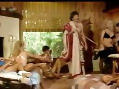 Vintage group sex with cock fucking and pussy fucking act