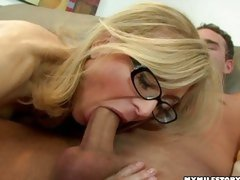 You are never too old to be a whore! Nina Hartley can still swallow huge dicks