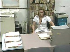 Stunning Blonde Nurse Capri Cameron Sucks and Fucks a Patient's Cock