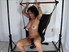 It started in the car, wherein this horny mature slut starts her...