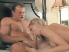Katie Morgan slurps on a huge cock and enjoys getting some head