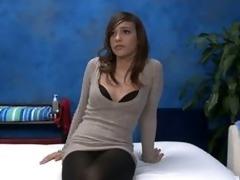 Melanie gets unreservedly stark naked