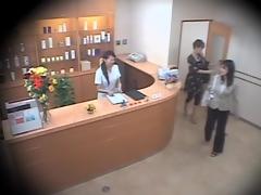 Twosome cute Asians screwed hard in voyeur massage video