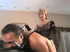 Mistress Fucks Slut-Boy