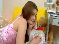 schoolgirl experiencing grovel a fall off