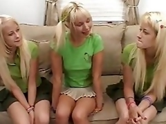 Hot Marissa, Wild Melissa and Ashley - Surprise!