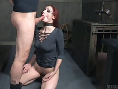 Fiery redhead required up and fuck hard greater quantity say no to indiscretion and cunt