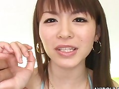 Close-mouthed bikini arrival very nice on the brush Japanese body