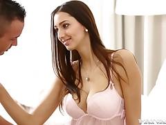 Leggy sexpot Kitty Jane having sensual sex on each side erotic HD video
