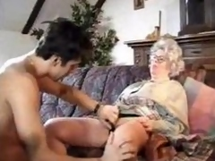 German girls Granny Plus Boy