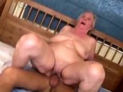 Aged Granny Tranquillity Loves Sex