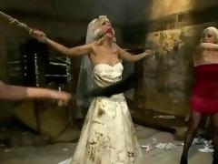 Bride Lorelei Lee gets cold & tormented