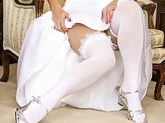 A bride acquires fucked by unknown guest