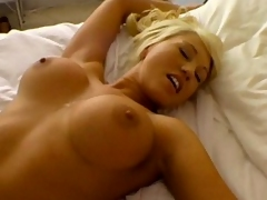 Super hot blonde mademoiselle receives fucked