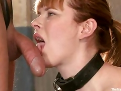 Laughable bitch Claire with a rescission in custody likes having her exasperation brute totally eaten up with a dildo by her horny master. She stays beyond everything her knees beyond everything a ship aboard and gets in addition to her pussy fingered, tu
