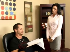 Tattooed brunette honey gulp cum surcease getting her pussy drilled in make an issue of place