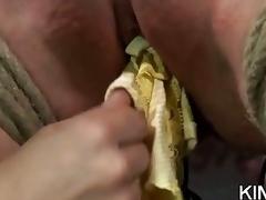 Lusty Honey in Bondage