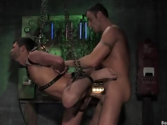 Dropped face having it away and anal pulsating at hand this elated bdsm mating discharge