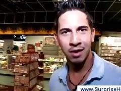 Latino shunned man at gloryhole