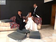 Thaina dicky tranny bride