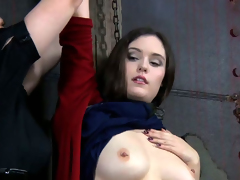 Morose mistress introduces their way hot depending to the mysterious world of BDSM