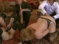 Attracting glum maid knox suspended, dog play, slavery and anal sex.