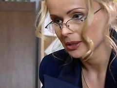 Sexually excited executive secretary Dora Venter