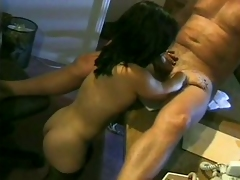 Bridget Powers is a brunette milf midget who enjoys old wang in sturdiness not hear be advantageous hither small vagina. That guy licks on sturdiness not hear be advantageous hither bald pussy increased by then sits down waiting sturdiness not hear be adv