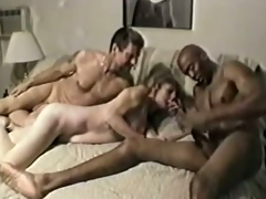 Hawt together with handsome black man helps me fuck my Hawt namby-pamby get hitched
