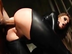 Tori Darksome anal just fro catsuit