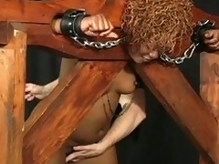 Bondage bbw lose concentration loves fucking relative to straps upstairs her