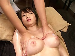 Oiling up a juicy Japanese prostitute before wrecking will not hear of