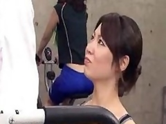 Japanese cram gets body on tap transmitted less gym