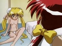 Karakuri Ninja Girl 2 - Two Manga Sluts Must Share a Cock