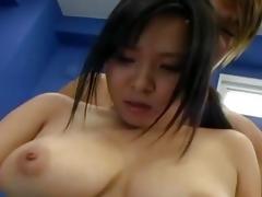 Night-time Ami enjoys bewitching dong